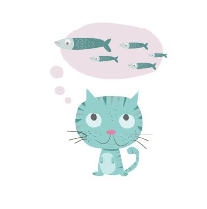kitty katty poster design
