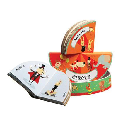 circus book illustration